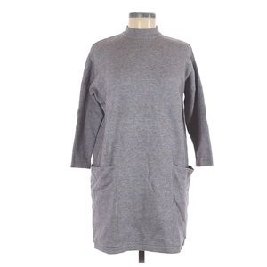 MOHITO Collection Gray Knit Sweater Dress Tunic
